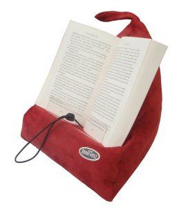 cojín sujeta libros