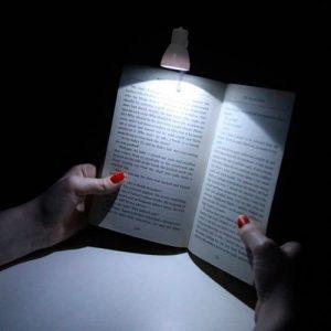 lampara clip leer de noche